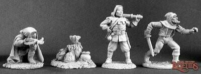 Townsfolk IV: Bandits (4) - Reaper Miniatures
