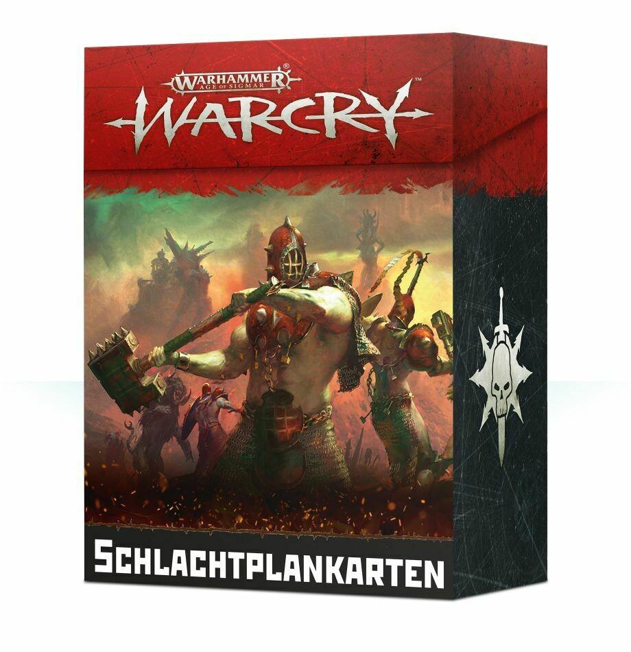 Warcry Battleplan Cards Schlachtplan-Karten (Deutsch) - Warhammer - Games Workshop