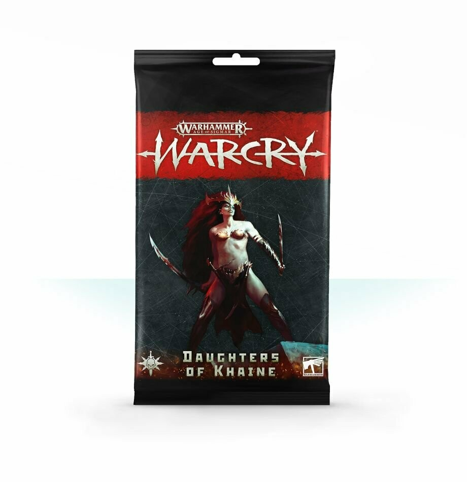 Warcry: Daughters of Khaine (D, E, F, I, S, Ch, J, R)- Warhammer - Games Workshop