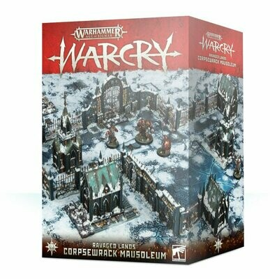 Warcry Ravaged Lands: Corpsewrack Mausoleum - Warhammer - Games Workshop