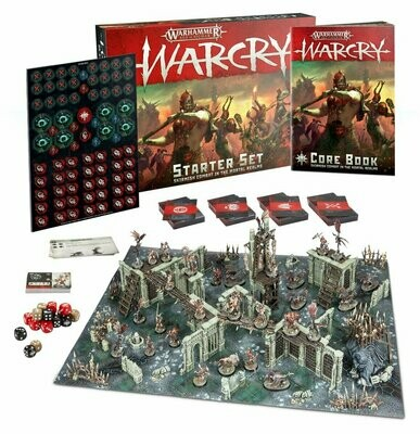 Warcry Starter Set (Englisch) - Warhammer - Games Workshop