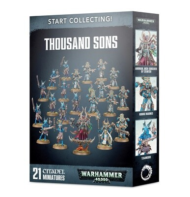 Start Collecting! Thousand Sons - Warhammer 40.000 - Games Workshop