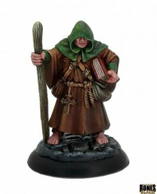 Brother Hammond, Traveling Monk - Bones - Reaper Miniatures