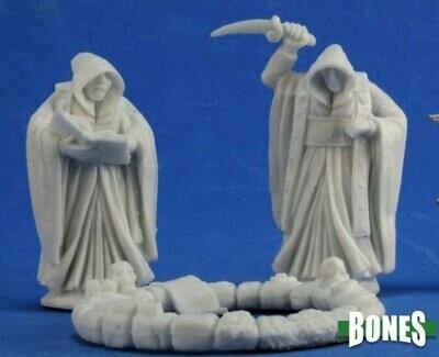 Cultists and Circle (3) - Bones - Reaper Miniatures