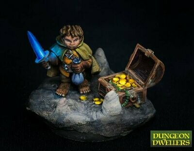Stitch Thimbletoe, Halfling Thief - Reaper Miniatures