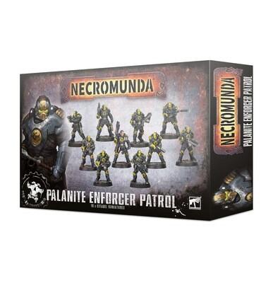 Patrouille der Palaniten-Vollstrecker Palanite Enforcer Patrol - Necromunda - Games Workshop