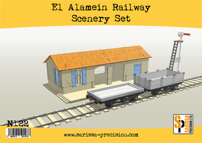 El Alamein Railways Station Set - Sarissa