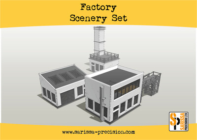 Factory Scenery Set - Sarissa