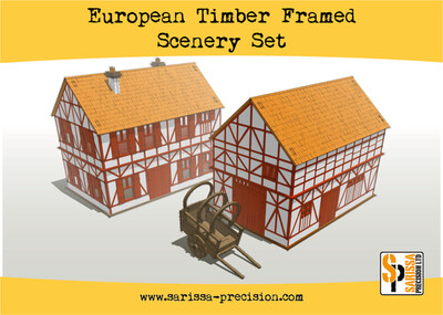 European Timber Frame Scenery Set - Sarissa