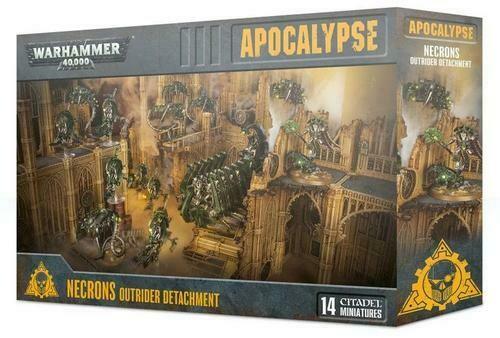 WH40K Necrons Outrider Detachment - Apocalypse - Warhammer - Games Workshop