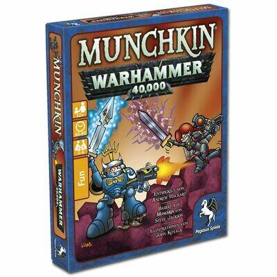 Munchkin Warhammer 40 000 40k - Pegasus Spiele
