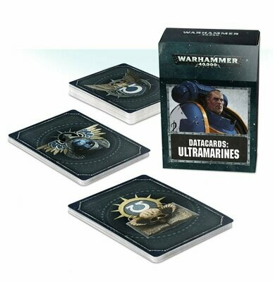Datakarten: Ultramarines Deutsch - Warhammer 40.000 - Games Workshop