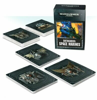 Datakarten: Space Marines Deutsch - Warhammer 40.000 - Games Workshop