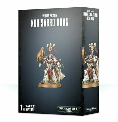 Kor'sarro Khan - White Scars - Warhammer 40.000 - Games Workshop