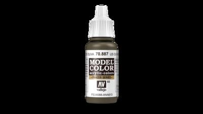 US Olive Drab Model Color - Vallejo - Farben