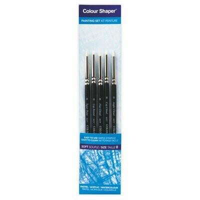 Colour Shaper® Set (weiche Spitze) Size 0 - Grösse 0