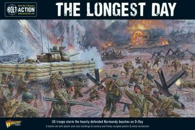 The Longest Day. D-Day battle-set - Bolt Action - English