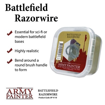 Battlefields: Basing: Razor Wire - Army Painter