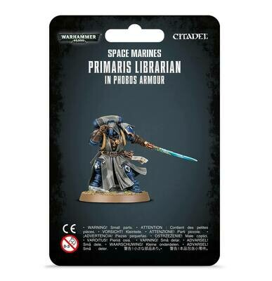 MO: Primaris Librarian in Phobos-Rüstung Phobos Armour - Warhammer 40.000 - Games Workshop