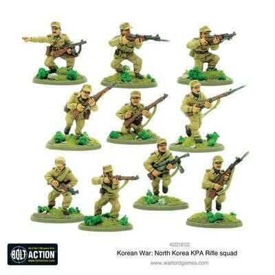 Korean War: North Korean KPA Rifle squad - Korean - Bolt Action