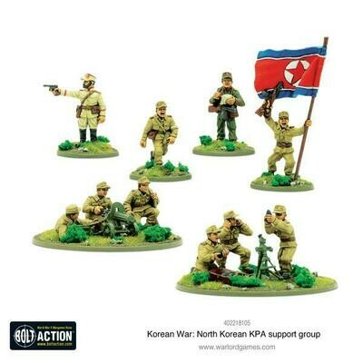 Korean War: North Korean KPA support group - Korean - Bolt Action