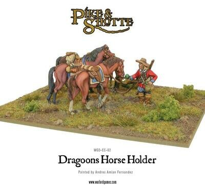 Dragoons Horse Holder - Pike & Shotte - Warlord Games