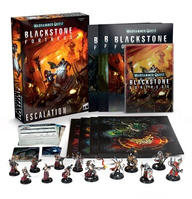 Blackstone Fortress: Escalation (Englisch) – Warhammer 40.000 - Games Workshop