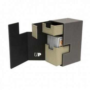 UP - M2.1 Deck Box - Grey/Stone - Ultra Pro