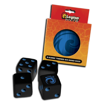 Legion - D6 Dice - Iconic Water - Würfel