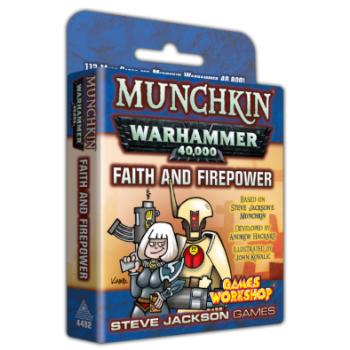Munchkin Warhammer 40,000 – Faith and Firepower - EN
