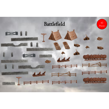 Terrain Crate: Battlefield - Mantic Games