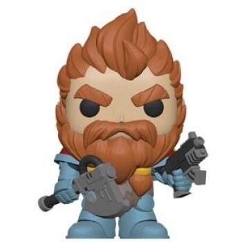 Funko POP! Warhammer 40K - Space Wolves Pack Leader Vinyl Figure 10cm