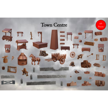 Terrain Crate: Town Centre - Mantic Games