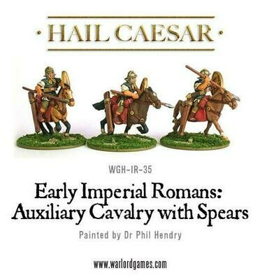 Early Imperial Romans: Auxiliary Cavalry with Spears - Hail Caesar - Warlord Games
