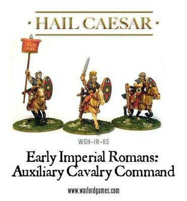 Early Imperial Romans: Auxiliary Cavalry Command pack - Hail Caesar - Warlord Games