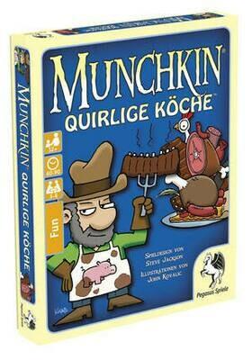 Munchkin: Quirlige Köche - Kartenspiel - Pegasus Spiele