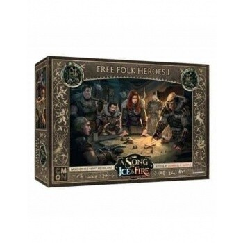 A Song Of Ice And Fire -Free Folk Heroes Box 1 - EN