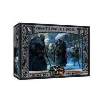 A Song Of Ice And Fire -Night's Watch Heroes Box 1 - EN