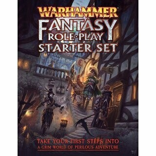 Warhammer Fantasy Roleplay 4th Edition Starter Set - EN - Rollenspiel