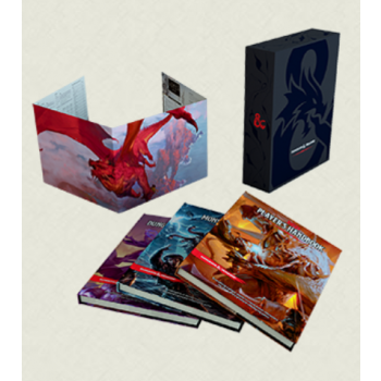 Dungeons & Dragons D&D RPG - Core Rulebook Gift Set - EN