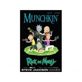 Munchkin: Rick and Morty - Card Game - Pegasus Spiele