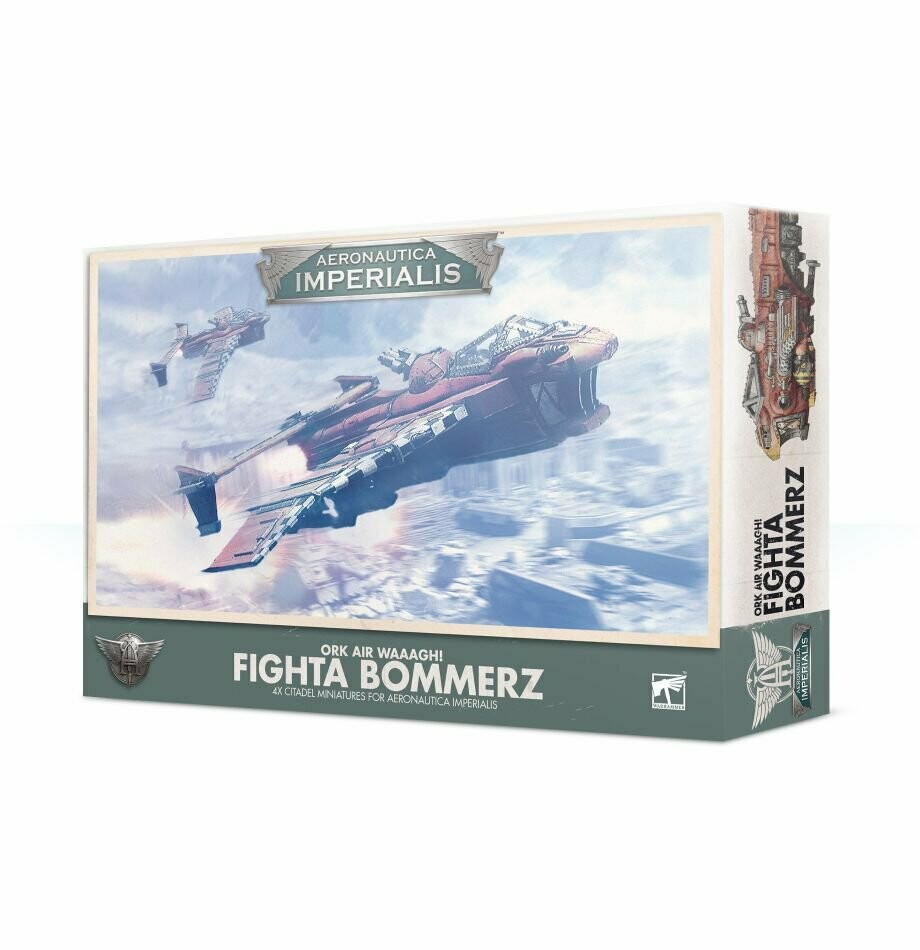 Ork Air Waaagh! Fighta Bommers - Aeronautica Imperialis - Games Workshop