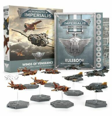 Aeronautica Imperialis: Wings of Vengeance (Englisch) - Games Workshop
