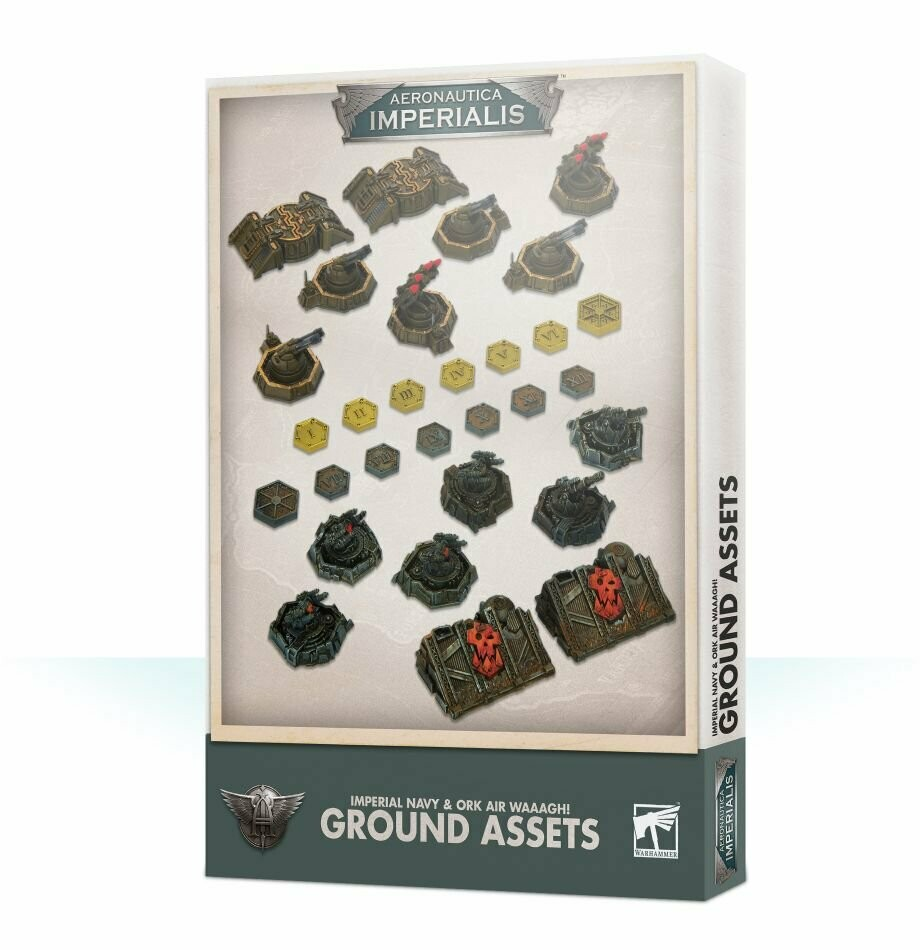 Ground Assets and Objectives - Aeronautica Imperialis - Games Workshop