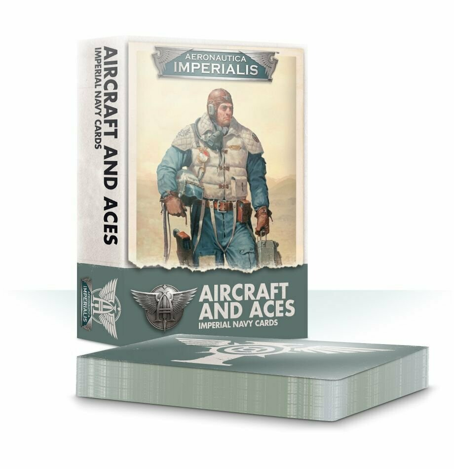 Aircraft and Aces Imperial Navy Cards (Englisch) - Aeronautica Imperialis - Games Workshop