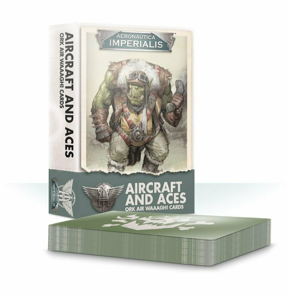 Aircraft and Aces Ork Air Waaagh! Cards (Englisch) - Aeronautica Imperialis - Games Workshop