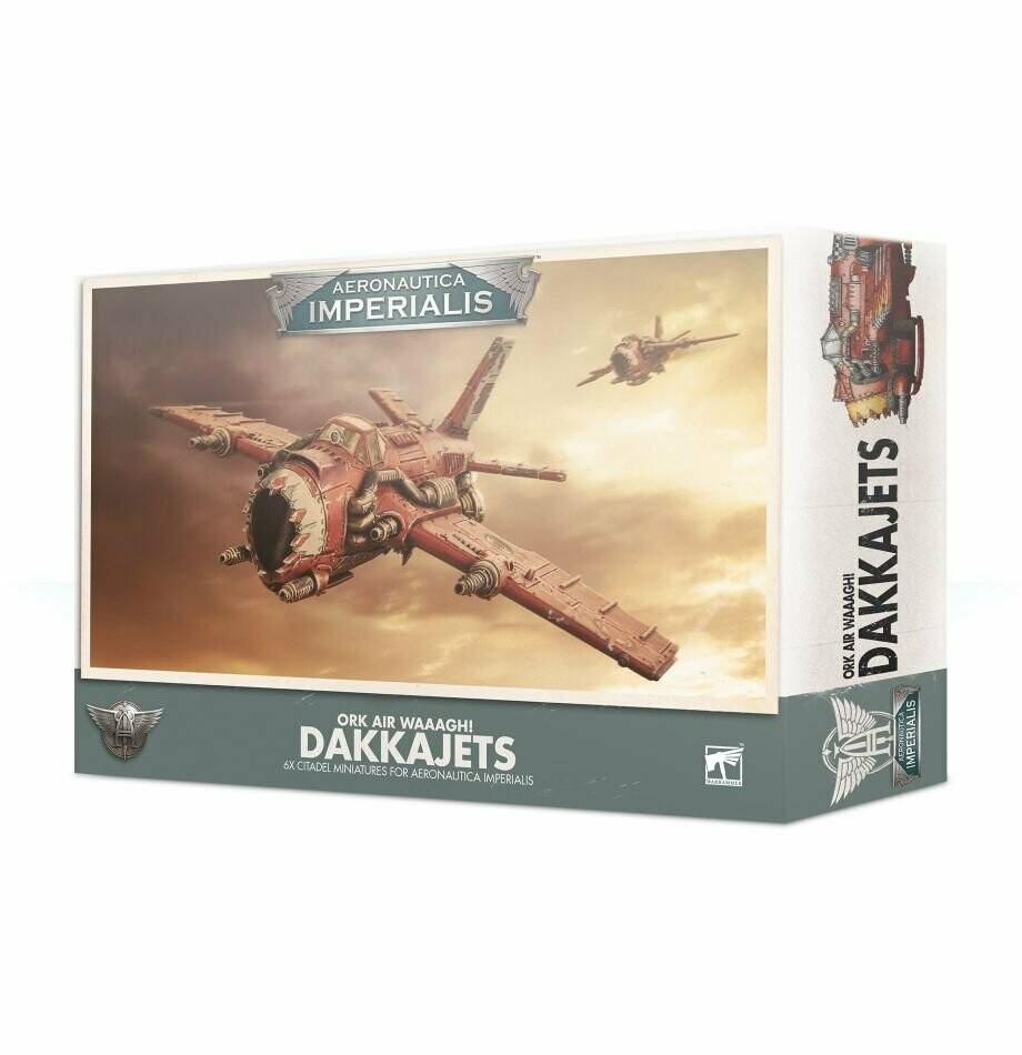Ork Air Waaagh! Dakkajets - Aeronautica Imperialis - Games Workshop