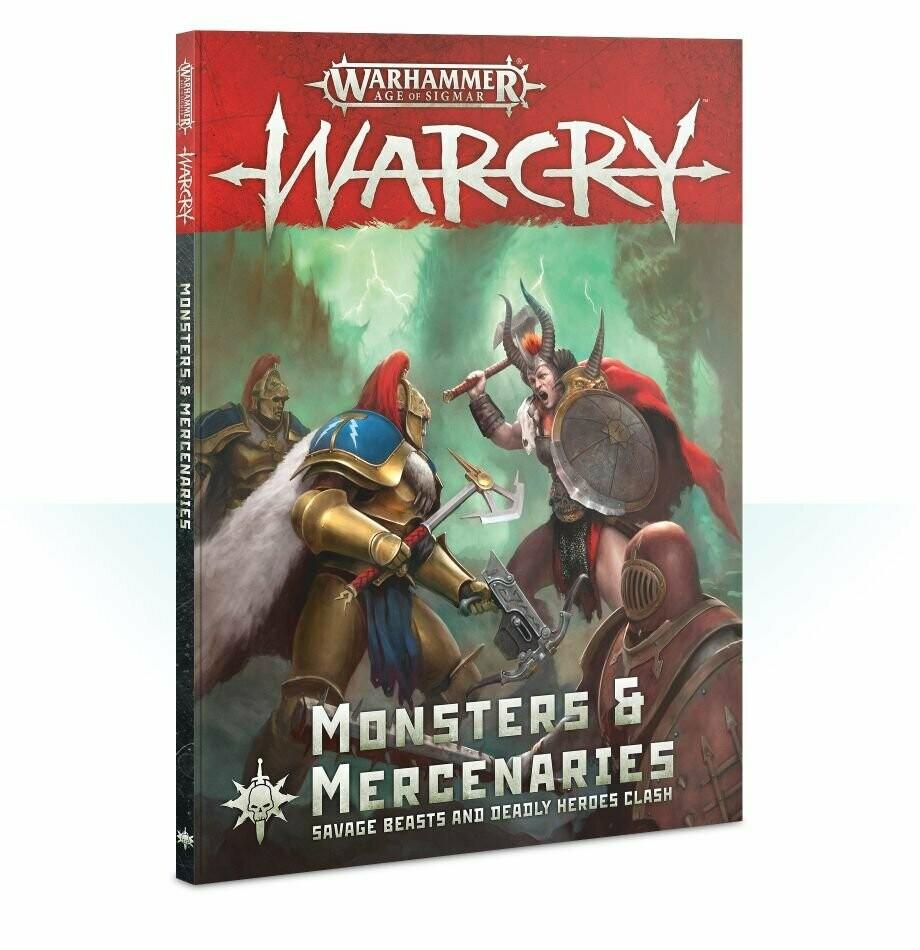 Warcry: Monsters & Mercenaries (Englisch) Expansion - Warhammer - Games Workshop