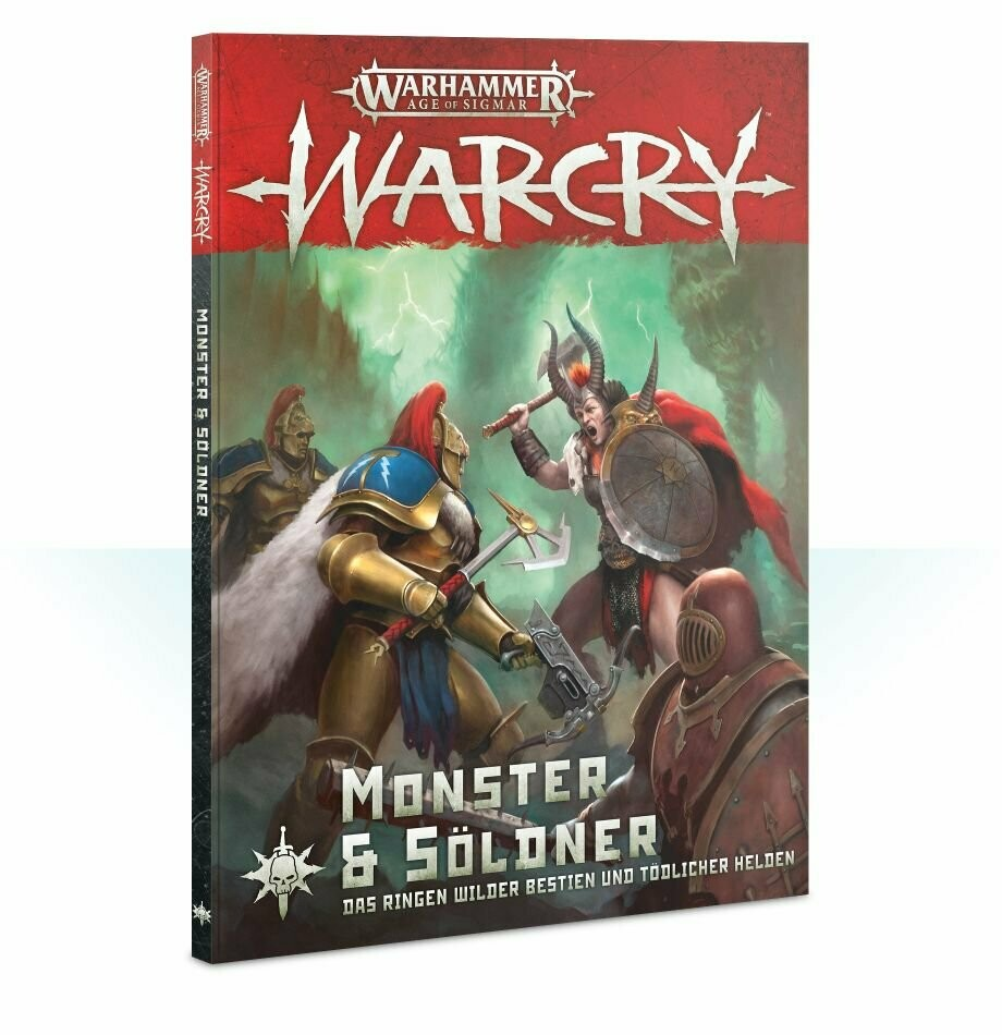 Warcry: Monster & Söldner (Deutsch) Erweiterung - Warhammer - Games Workshop