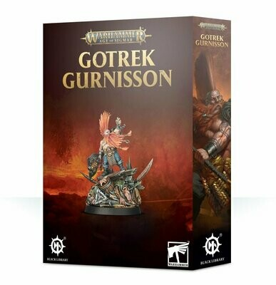 MO: Gotrek Gurnisson - Duardin - Warhammer Age of Sigmar - Games Workshop